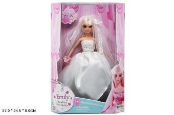 Кукла Shantou Gepai Невеста в белом 29 см недорого