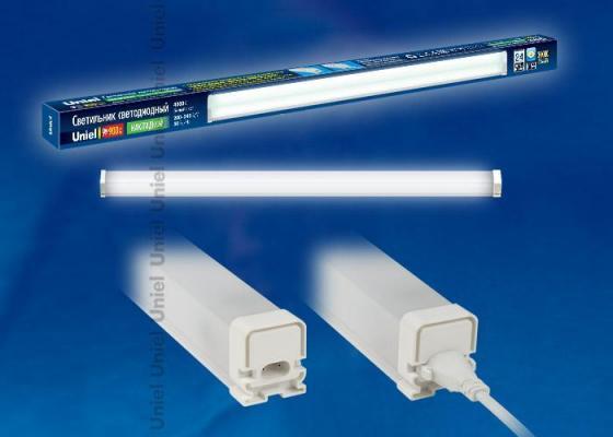 Мебельный светодиодный светильник (UL-00001617) Uniel ULO-BL60-9W/NW/K IP54 White встраиваемый светодиодный светильник ul 00003089 uniel ulp 3030 18w nw effective white