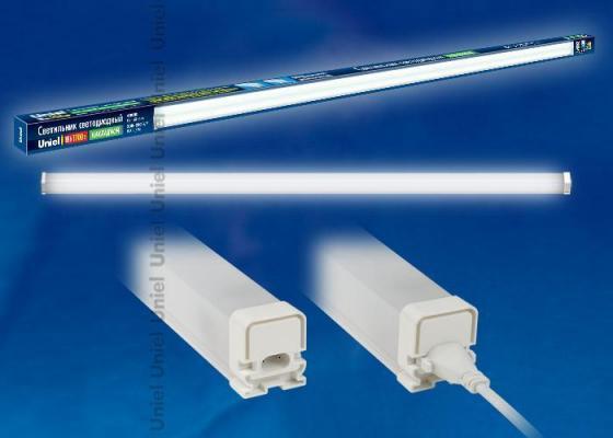 Мебельный светодиодный светильник (UL-00001618) Uniel ULO-BL120-18W/NW/K IP54 White встраиваемый светодиодный светильник ul 00003089 uniel ulp 3030 18w nw effective white