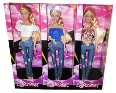 Кукла DEFA LUCY Стильная штучка в ассортименте кукла defa lucy 8305a