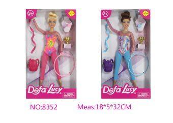 Кукла DEFA LUCY Чемпионка в ассортименте кукла defa lucy доктор 8346