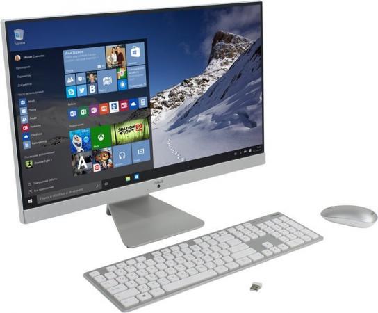 "купить Моноблок 23.8"" ASUS Vivo AiO V241ICUK-WA016T 1920 x 1080 Intel Core i3-7100U 4Gb 1Tb Intel HD Graphics 620 64 Мб Windows 10 Home белый серебристый 90PT01W2-M01520 недорого"