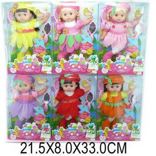 """Кукла Shantou Gepai """"Цветочная полянка"""" 27 см в ассортименте TD1405 кукла shantou gepai настенька с мобильным приложением поющая говорящая 60 см my010 3"""