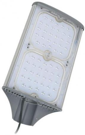 Уличный светодиодный светильник (UL-00001861) Uniel ULV-R71J-100W/NW IP65 Silver уличный светодиодный светильник ul 00001861 uniel ulv r71j 100w nw ip65 silver