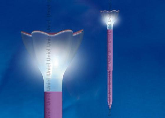 цена Светильник на солнечных батареях (10623) Uniel Promo USL-C-417/PT305 Purple Crocus