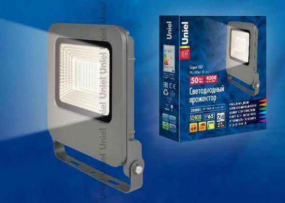 Прожектор светодиодный (UL-00002072) Uniel 50W 3000K ULF-F17-50W/WW 50w 6ohm wirewound aluminum housed resistor pair