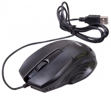 Мышь проводная Ritmix ROM-300 чёрный USB ritmix rom 303 black мышь