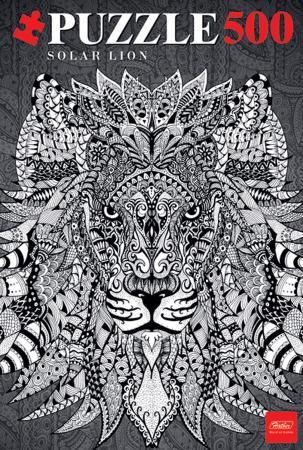 Пазл 500 элементов Hatber «Doodle Art» Lion 500ПЗ2_16013 пазл 500 элементов hatber проект армата 500пз2 15768