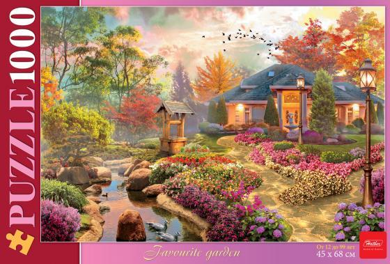 Пазл 1000 элементов Hatber Любимый сад 1000ПЗ2_17104 пазл hatber райский сад 340x460mm 500пз2 16969