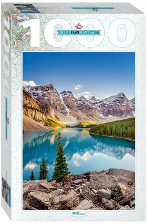 Пазл 1000 элементов Step Puzzle Озеро в горах 79120 puzzle 1000 медведи на рыбалке мгк1000 6471
