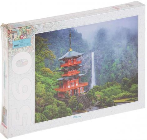 Пазл 560 элементов Step Puzzle Пагода у водопада 78094 пазл step puzzle пагода у водопада 560 элементов 78094