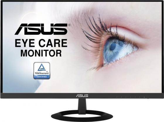 Монитор 22 ASUS VZ229HE черный IPS 1920x1080 250 cd/m^2 5 ms HDMI VGA монитор asus vp249h черный ips 1920x1080 250 cd m^2 5 ms hdmi vga