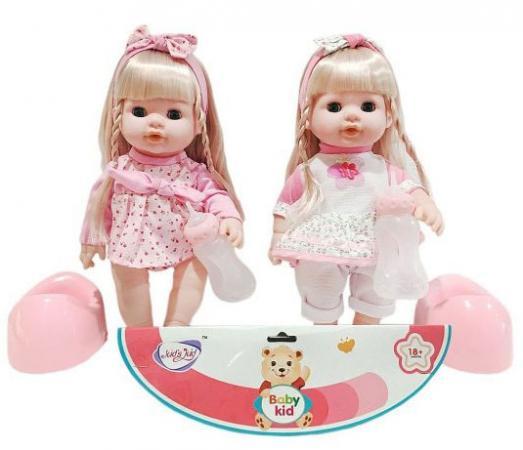 Кукла Shantou Gepai Мими 35 см со звуком писающая пьющая в ассортименте кукла shantou gepai my baby 30 см со звуком пьющая писающая