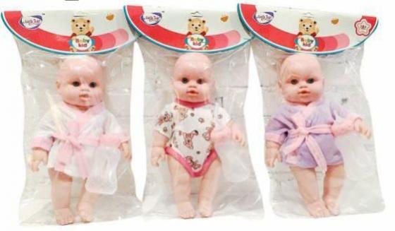 Пупс Shantou Gepai Кроха 30 см пьющая писающая кукла shantou gepai my baby 30 см со звуком пьющая писающая