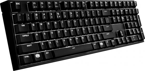 Клавиатура проводная Cooler Master MasterKeys Pro L White LED USB черный SGK-4070-KKCR1-RU клавиатура cooler master masterkeys pro s led white sgk 4090 kkcr1 ru