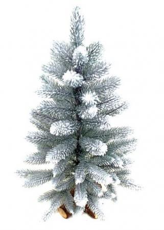 Ель Новогодняя сказка Декоративная 60 см заснеженная ель искусственная заснеженная 60см