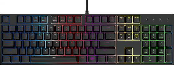 Клавиатура проводная Cooler Master MasterKeys Lite L Combo with RGB(SGB-3040-KKMF1-RU) USB черный цена