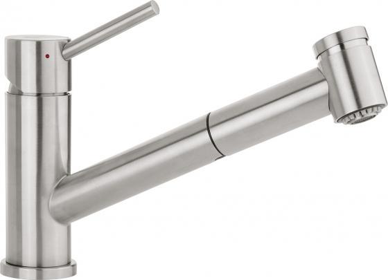 Смеситель Villeroy & Boch Como Switch LC stainless steel massive серебристый 927200LC