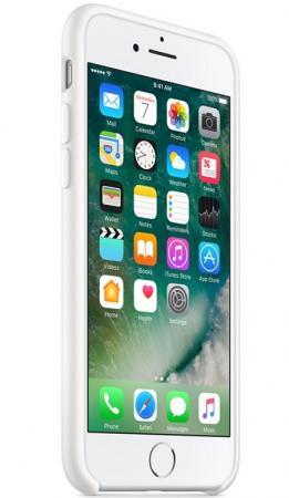 Накладка Apple Silicone Case для iPhone 8 iPhone 7 белый MQGL2ZM/A кейс для iphone apple iphone 7 silicone case ocean blue mmww2zm a