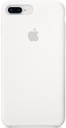 Накладка Apple Silicone Case MQGX2ZM/A White для iPhone 7 Plus iPhone 8 Plus белый чехол apple для iphone 7 8 silicone case ультрафиолет