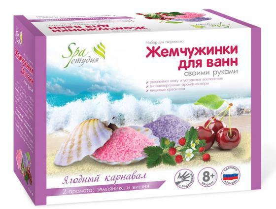 Набор для творчества Аромафабрика Ягодный Карнавал С0811 набор эм 3 предмета 11 ягодный чай 1078086