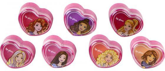 Игровой набор детской декоративной косметики Markwins Барби 7 предметов 593915 игровой набор детской декоративной косметики markwins барби для ногтей 5 предметов 9708351