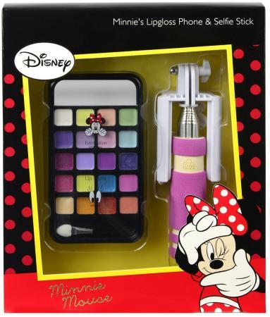 Игровой набор детской декоративной косметики Markwins Минни Маус, с селфи палкой 9703351 цена