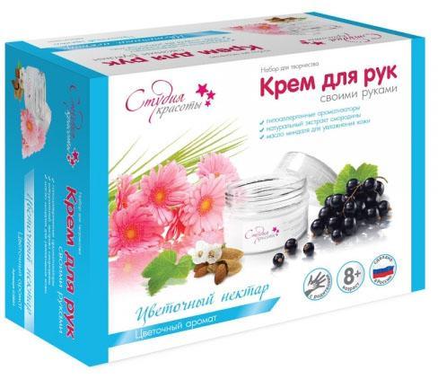 Набор для создания крема Аромафабрика Цветочный нектар С0901 набор крем kora набор spa лифтинг уход набор