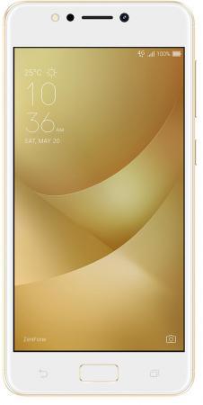 Смартфон ASUS Zenfone 4 Max ZC520KL золотистый 5.2 16 Гб LTE Wi-Fi GPS 3G 90AX00H2-M00390 смартфон asus zenfone 4 ze554kl черный 5 5 64 гб lte wi fi gps 3g 90az01k1 m01210