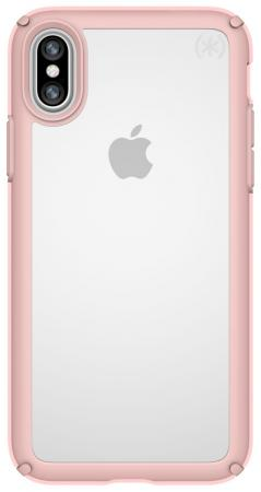 Накладка Speck Presidio Show для iPhone X прозрачный розовое золото 103134-6244 накладка speck seethru air 11 blue
