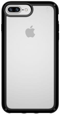 Накладка Speck Presidio Show для iPhone 8 Plus iPhone 7 Plus iPhone 6S Plus iPhone 6 Plus прозрачный чёрный 103125-5905 защитная плёнка 3m mppap010 для iphone 6 plus iphone 6s plus iphone 7 plus 7100112606