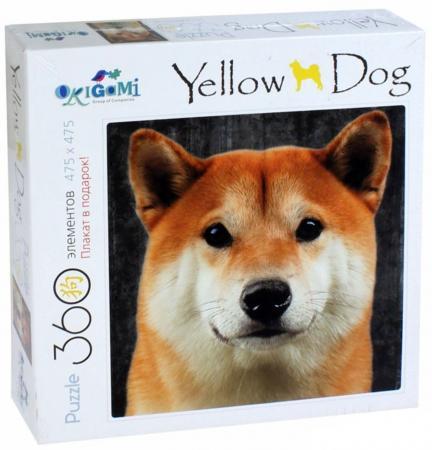 Пазл 360 элементов ОРИГАМИ Собаки Хаски - Акита Ину пазл оригами арт терапия кошка 360 элементов