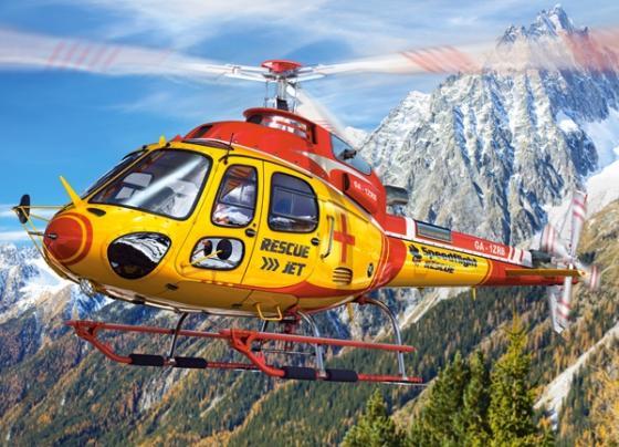 Пазл 260 элементов Кастор Вертолет пазл 60 элементов кастор три поросенка в 06106