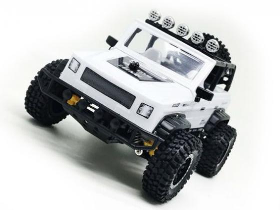 Машинка на радиоуправлении Пламенный мотор Джип Сафари белый от 3 лет пластик машинка пламенный мотор внедорожник 87589