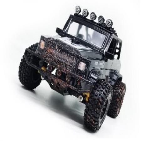 Машинка на радиоуправлении Пламенный мотор Джип Сафари черный от 3 лет пластик, металл машинка на радиоуправлении пламенный мотор спорткар разноцветный от 3 лет пластик металл