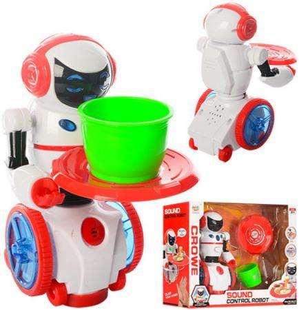 """Робот электронный Shantou Gepai """"Мой помощник"""" 19.5 см двигающийся со звуком светящийся ассортимент, 383-27 стоимость"""