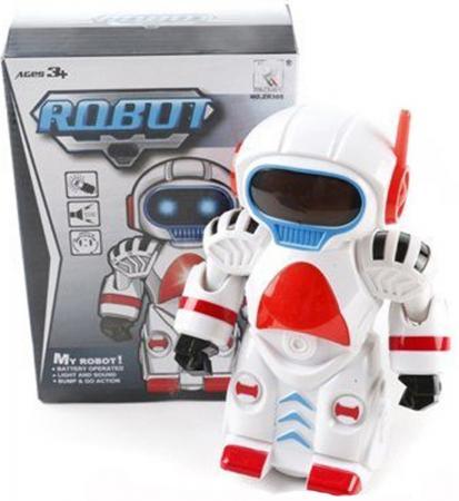 Робот электронный Zhorya Робот со звуком светящийся двигающийся ZR305 боевой робот shantou gepai воин галактики 30 см двигающийся со звуком светящийся 6007
