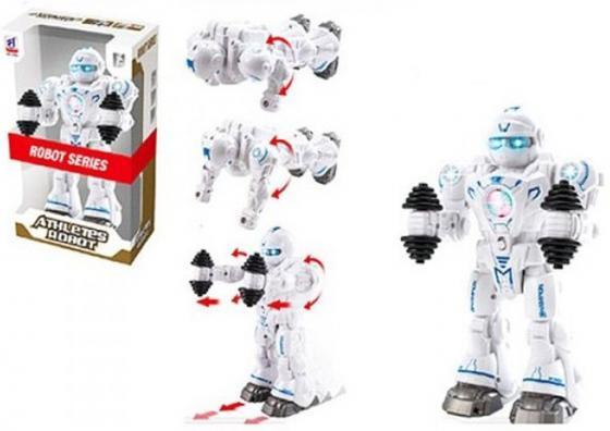 Робот электронный Shantou Gepai Чемпион двигающийся со звуком светящийся боевой робот shantou gepai воин галактики 30 см двигающийся со звуком светящийся 6007