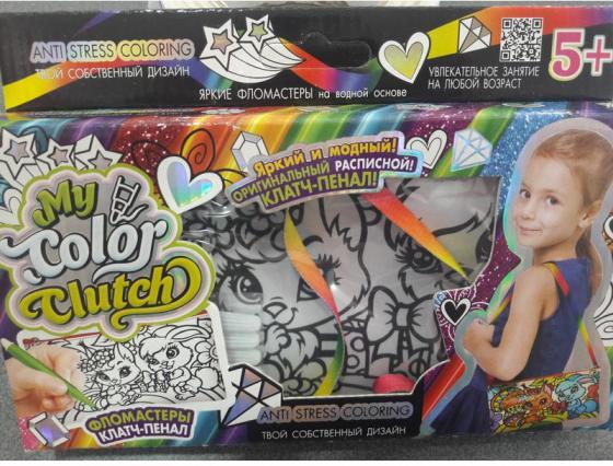 Набор для творчества Данко Тойс «My Color Clutch» Зайка и белочка CCL-02-06 набор для плетения из пушистой проволоки азбука тойс заяц и морковка