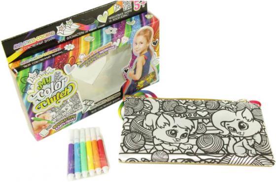 Набор для творчества Данко Тойс «My Color Clutch» Кошки и клубочки CCL-02-05 набор для творчества данко тойс my color clutch клатч пенал пони от 6 лет