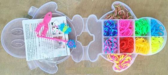 Набор для творчества Shantou Gepai Плетение браслетов, с подвесками 942486 стоимость