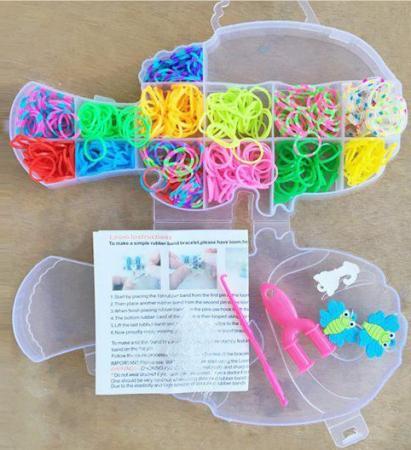 Набор для творчества Shantou Gepai Плетение браслетов, с подвесками 942487 набор для творчества shantou gepai рукодельница сова k04