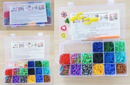 Набор для творчества Shantou Gepai Плетение браслетов, с подвесками 942485 стоимость