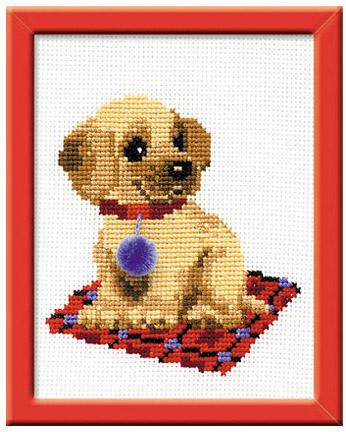Набор для вышивания Сотвори Сама Щенок НВ-067 набор для вышивания роза 00317