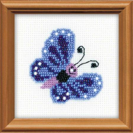Набор для вышивания Сотвори Сама Бабочка 1110 наборы для вышивания galla collection набор для вышивания бисером семёновская матрёшка