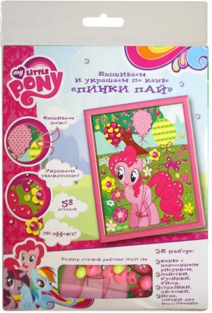 Набор для вышивания Росмэн Пинки Пай, My Little Pony 32164 набор для детского творчества набор д вышивания гладью my little pony