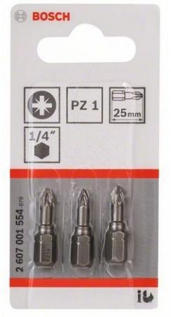 Набор бит Bosch 3шт 2607001554 стоимость