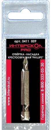 Бита Интерскол Phillips РН3 50мм S2 0411  014 mr phillips