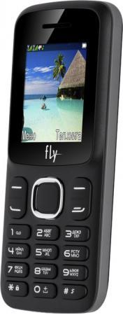 Мобильный телефон Fly FF180 черный 1.77 32 Мб мобильный телефон fly ezzy trendy 3 white