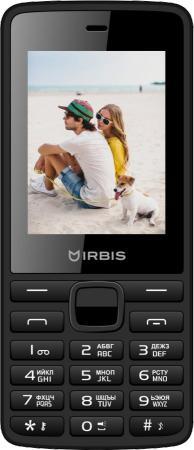 Мобильный телефон Irbis SF09 черный 2.4 32 Мб мобильный телефон irbis sf61 черный